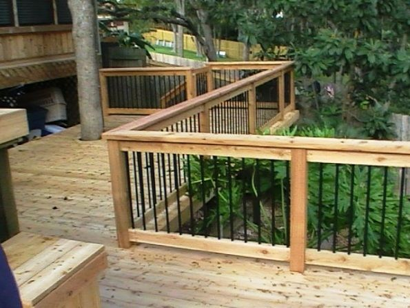 How To Build A Deck Railing Diy Outdoors Pinterest
