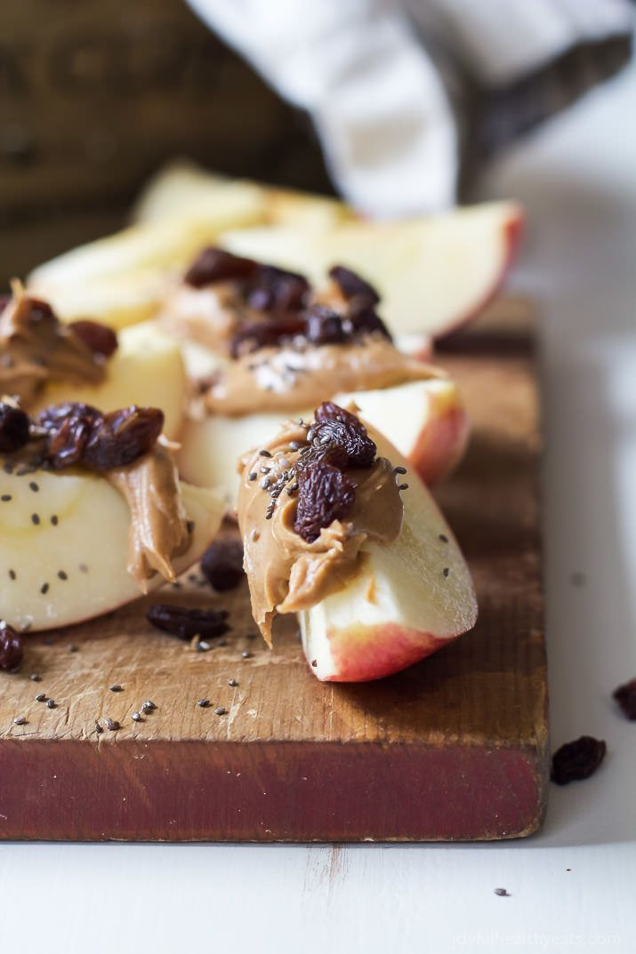 7. Apple Peanut Butter Energy Bites http://greatist.com/fitness/50-awesome-pre-and-post-workout-snacks