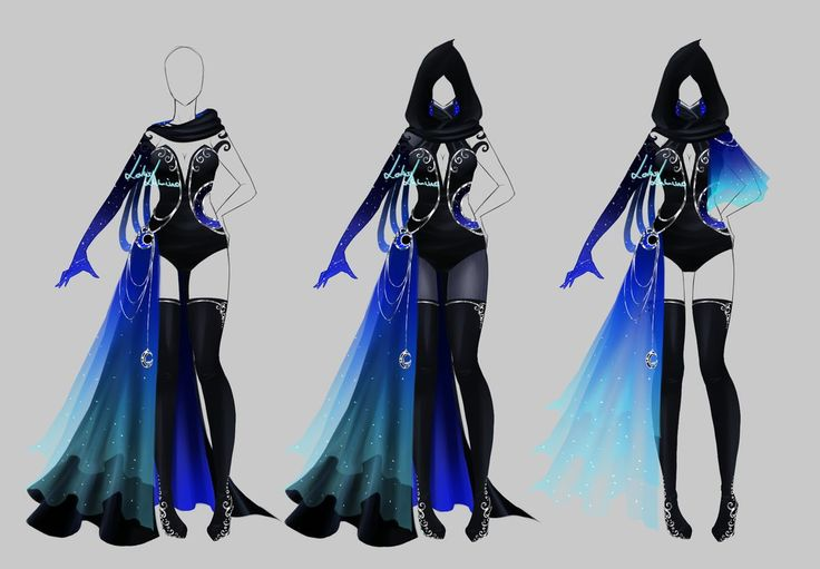 Outfit design - 204 - closed by LotusLumino on DeviantArt