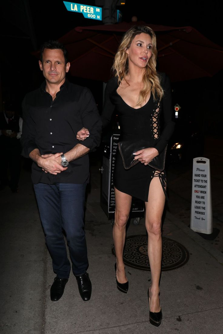 Brandi Glanville.. House of CB Daniela' Black Lace Up Bandage Dress..