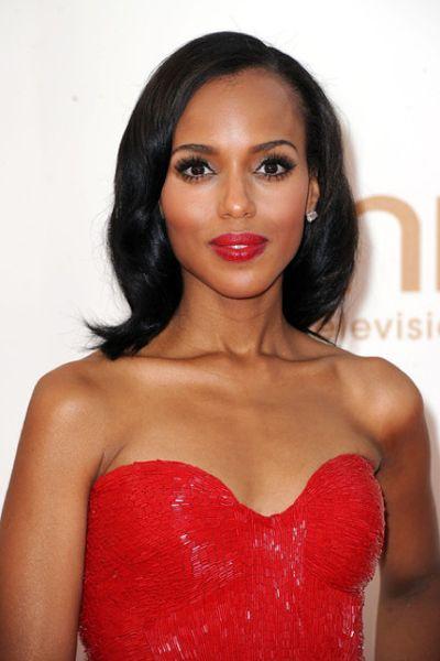 Glam red carpet look - wedding makeup for black/African American women