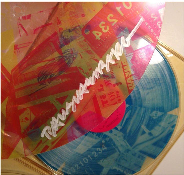 The Talking Heads - Speaking in Tongues Lp 1983 Artwork: Robert Rauschenberg