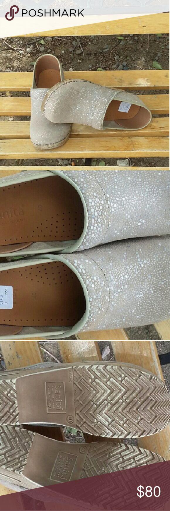 SALE OUR TRADE NURSING CLOGS SANITA DANISH CLOGS PROFESSIONAL SIZE 40 sanita Shoes Mules & Clogs