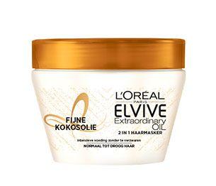 Elvive Extraordinary Oil Fijne Kokosolie 2-in-1 Haarmasker