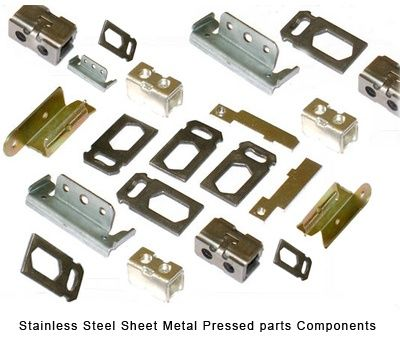 Stainless Steel Sheet Metal Pressed parts Components #StainlessSteelParts #SheetMetalPressedpartsComponents  We are manuyfacturers and suppliers from india of all types of Stainless Steel pressed parts Stainless Steel sheet metal parts and pressed components. There are 3 main  grades of stainless steel that we would manufacture your components from, they are 316, 304 and 430. The 316 grade of stainless steel is used where a superior corrosion resistance is needed e.g. the marine industry.