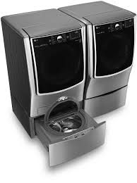 #LGLimitlessDesign & #Contest LG Black Stainless Steel washer and dryer. My washer and dryer is in the kitchen area so it would have to match the kitchen appliances :)