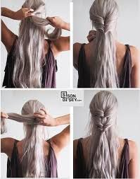 Fast & Simple Hairstyles in 2 Minutes Appears to be like Lovely for Work or Faculty