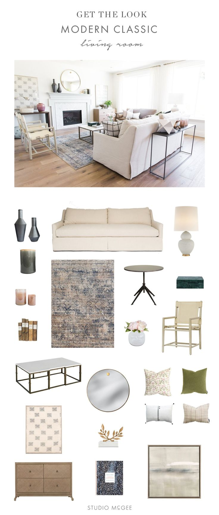 Modern Classic Living Room Inspiration