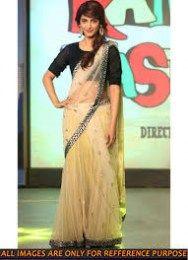 Shruti Hasan In Beautiful Bright Net Saree