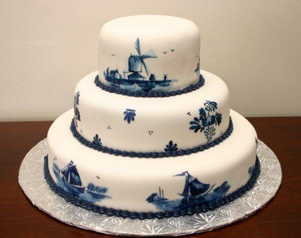 Dutch Delft cake!