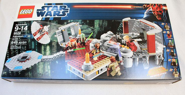 LEGO 9526 Star Wars Palpatines Arrest NEW Factory SEALED HTF!!!