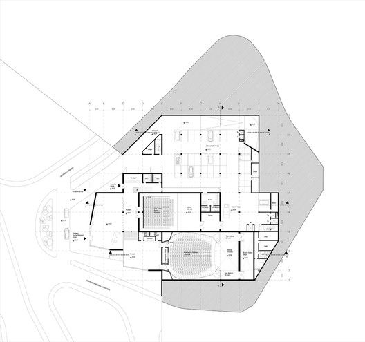Competition Entry: Istanbul Gülsuyu Cemevi and Cultural Center,Floor Plan 4