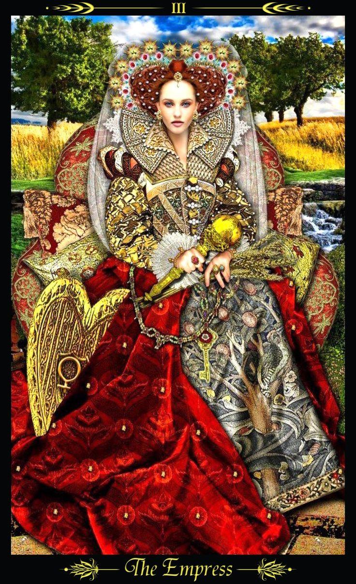 The Empress And Death Antique Tarot Cards: Illuminati Images On Pinterest