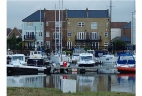 Stunning property on the Sunshine Coast-Eastbourne Marina-Stunning Views over the Harbour-Direct Water Frontage 4/5 Bedroom Town House £449,950