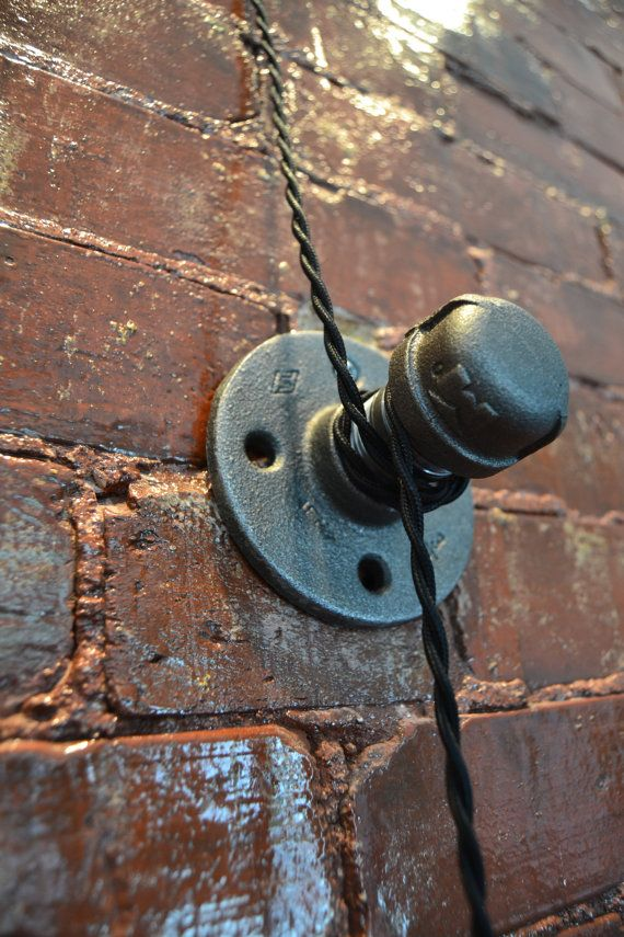 Pulley Light Wall Light Industrial Lighting by WestNinthVintage