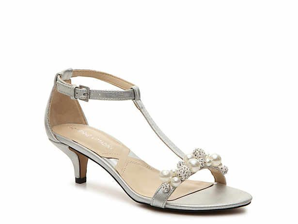 Women S Evening And Wedding Shoes Bridal Shoes Dsw Evening Shoes Low Heel Dressy Sandals Sandals