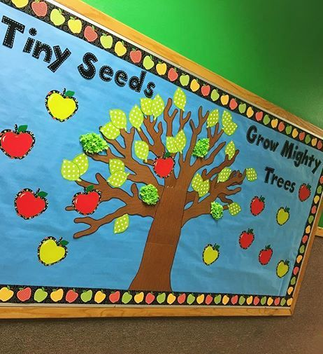 Best 25 apple bulletin boards ideas on pinterest apple for Apple tree classroom decoration