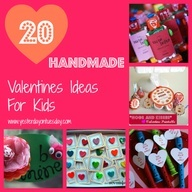 20 Handmade Valentines Ideas for Kids...these are all so cute