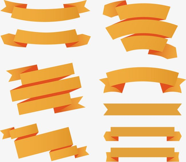 9 Orange Ribbon Banner Vector Material Ribbon Ribbon Material Scroll Png Transparent Clipart Image And Psd File For Free Download Banner Vector Ribbon Banner Orange Ribbon