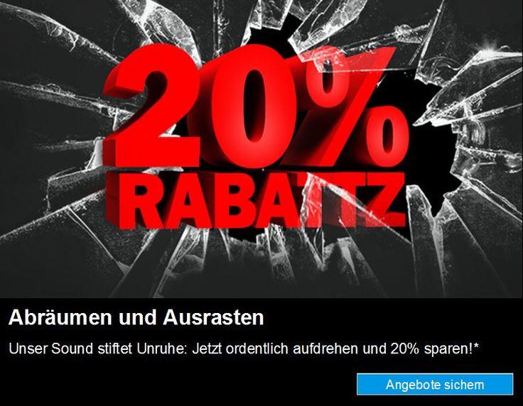 #20TEUFEL20 – Gutschein – 20% auf alle Teufel & Raumfeld-Produkte #teufel #heimkino #sehrlaut https://www.lautsprecher-shop.com/?p=110220