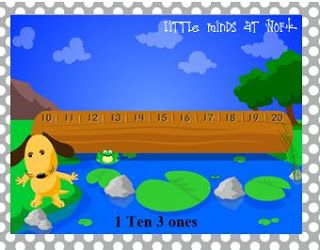 Little Minds at Work: Teen Numbers & Place Value Fun! - interactive game