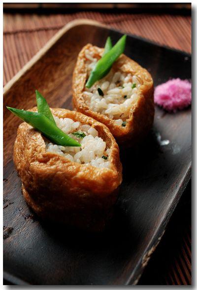 へしこ稲荷寿司 .......... う、うまいなぁ〜 沁みるなぁ〜 by さかな ...