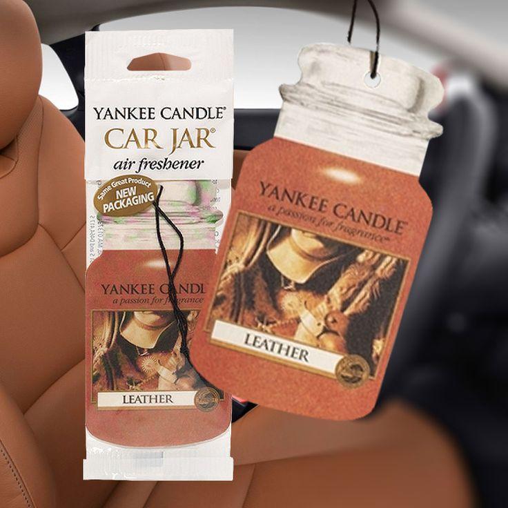 Yankee Candle – papírová visačka Leather
