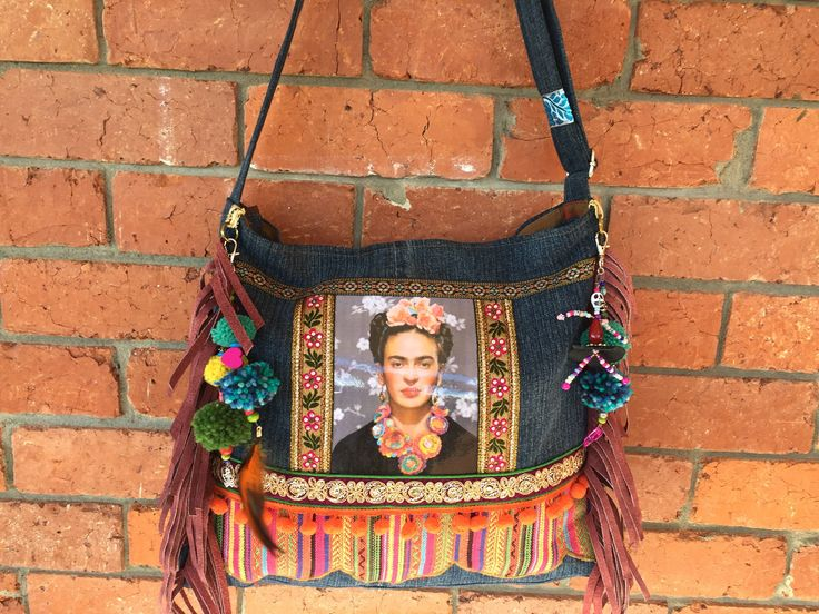 A personal favourite from my Etsy shop https://www.etsy.com/au/listing/527823212/frida-kahlo-satchelbohemian-bagsling-bag
