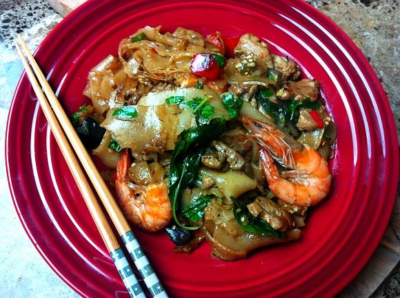 Thai Drunken Noodles - Seonkyoung Longest