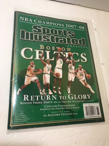 SPORTS ILLUSTRATED: BOSTON CELTICS NBA CHAMPIONS 2007-2008 COMMEMORATIVE ISSUE