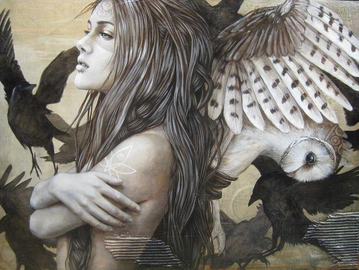 Sophie Wilkins - Pintor - Retratos - Canadiense