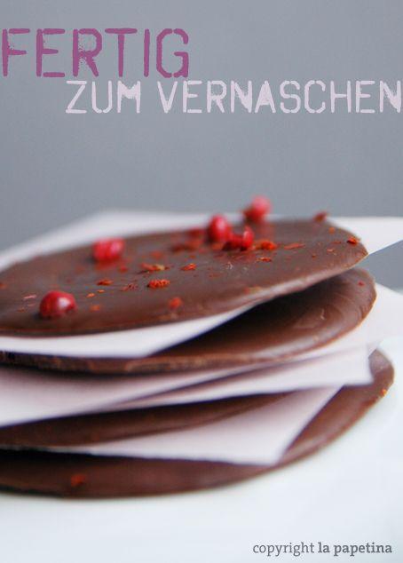 Schokolade selbstgemacht DIY