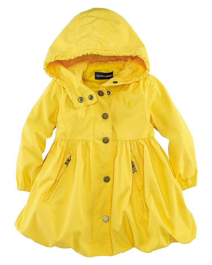Baby Headquarters Toddler / Infant / Baby Girl Hooded Raincoat - white with silver color hearts and pink buttons - thick fleece lining inside - Size 18 Months - 18Mi Gymboree Baby Girls Rain Coat M Teal Polka Dot Waterproof Jacket Slicker.