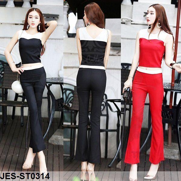"""JES-ST0314 tanktop pants import korea-baju atasan celana panjang wanita import  Rp279,000.00  #dressmurah #longdress #bodycondress #jumpsuitmurah #dresspesta #skirt #blouse #middidress #dressmini #beautiful #instagood #larismamis #jualanku #readystokimport #notipitipu #recomendbgt #hiburanmalam #jogetinajashay #jualbaju #jualdress"" by @dacd_clothing. #ganpatibappamorya #dilsedesi #aboutlastnight #whatiwore #ganpati #ganeshutsav #ganpatibappa #indianfestival #celebrations #happiness…"