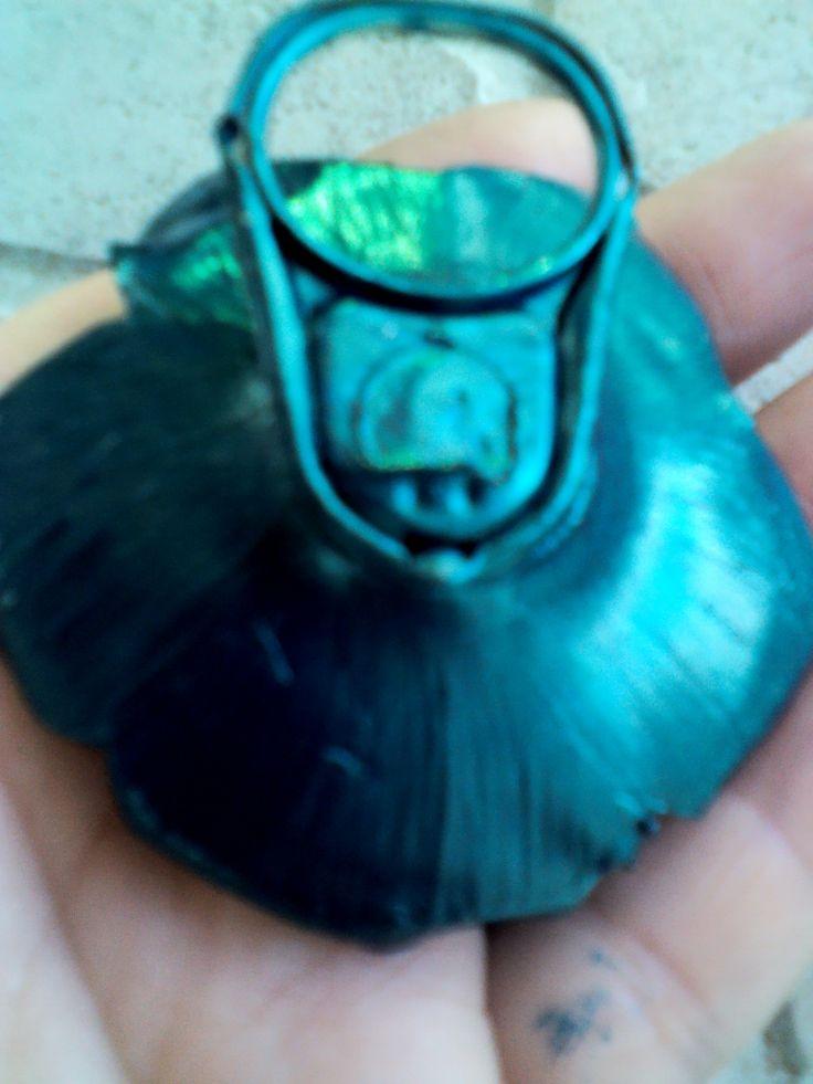 Pandantiv PET (cheita de agatare este de la o ...conserva)