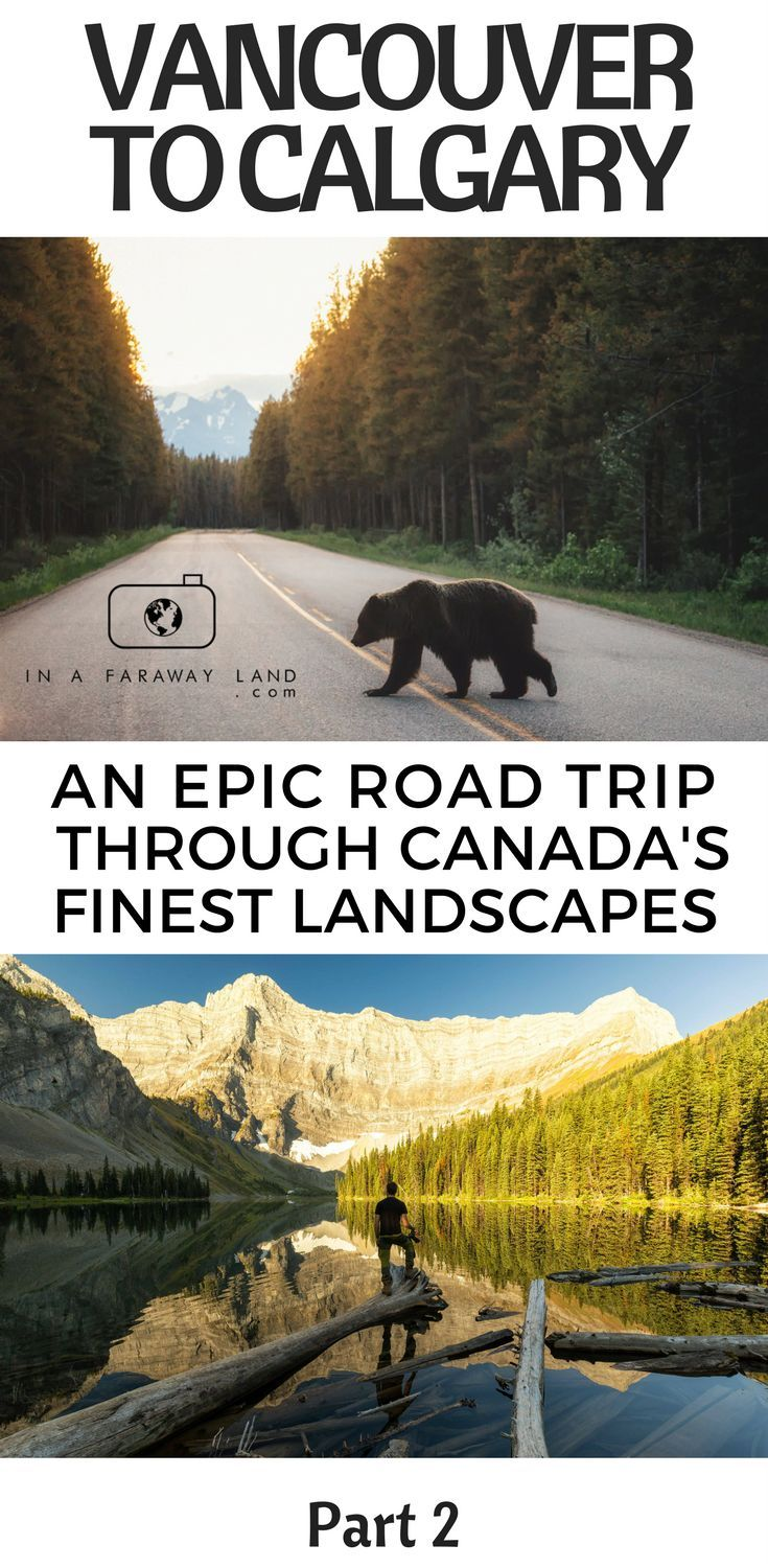 Part 2 of the ultimate travel itinerary from Vancouver to Calgary. Featuring Banff National Park, the Bow Valley Parkway and Canmore & Kananaskis #roadtrip #Canada #Travel #tips