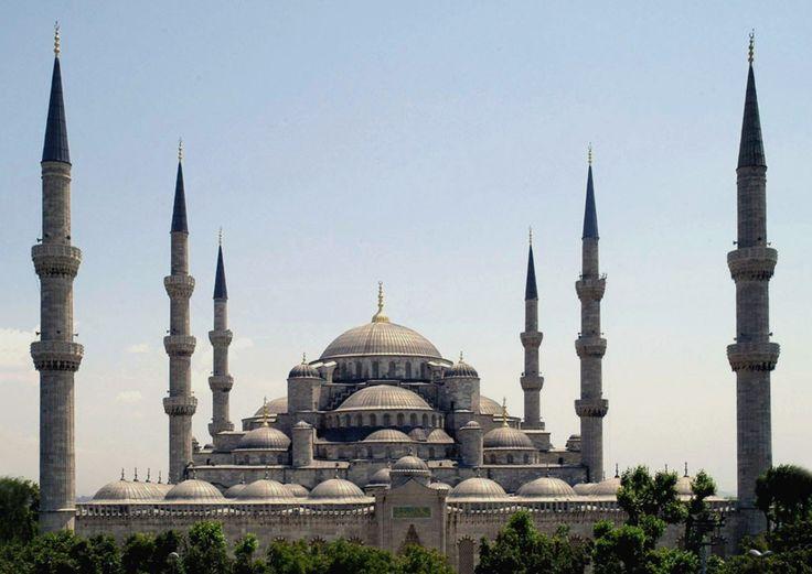 Голубая мечеть. Стамбул. Турция