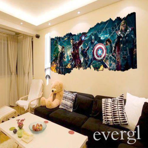 11 best Avengers Bedroom images on Pinterest | Avengers bedroom ...