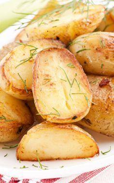 Golden Oven Roasted Potatoes Recipe
