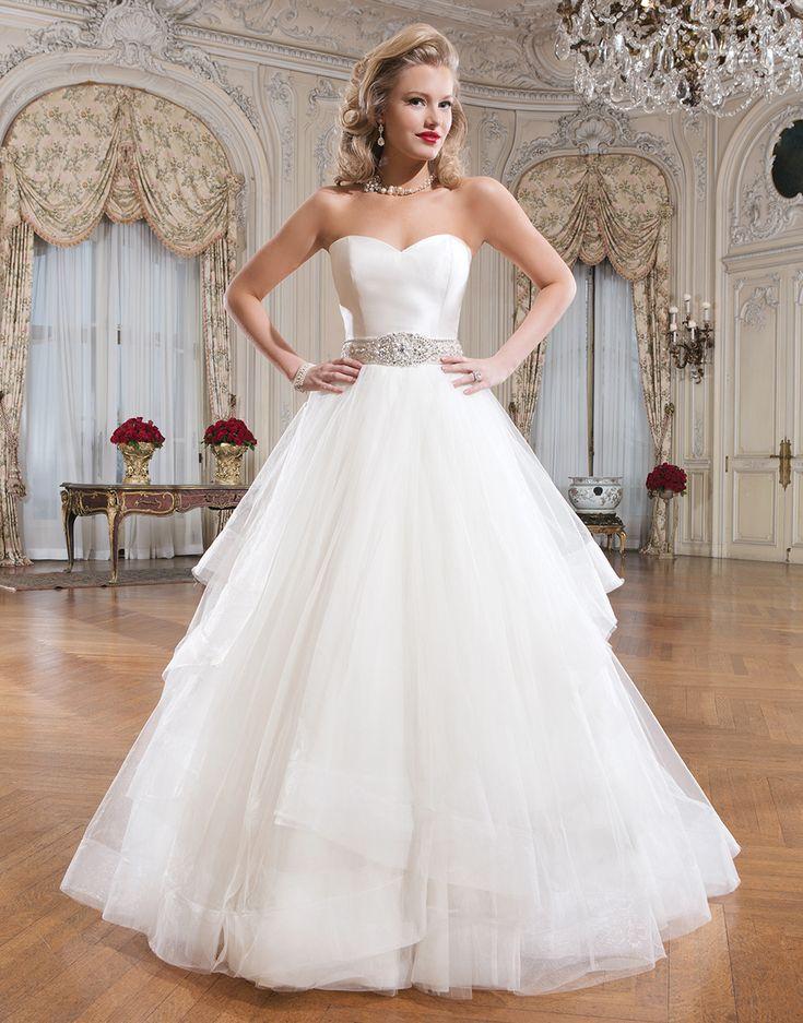 Best 17 Justin Alexander Bridal images on Pinterest | Wedding frocks ...