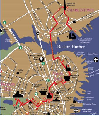 Boston's Freedom Trail, Boston, Massachusetts