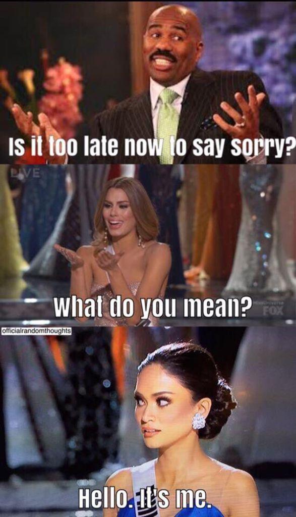 2015 Miss Universe Memes — See Hilarious Pics After Steve Harvey's Fail