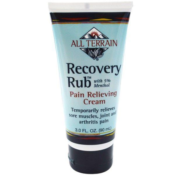 All Terrain, восстановление руб, обезболивающие крем, 3,0 жидких унций (90 мл)
