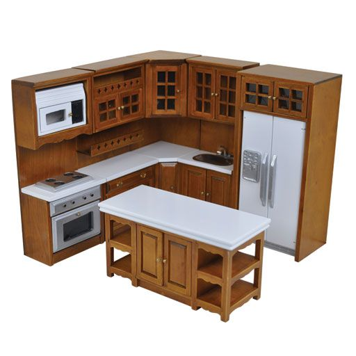 dollhouse furniture kitchen. beautiful brinca dada edward modern