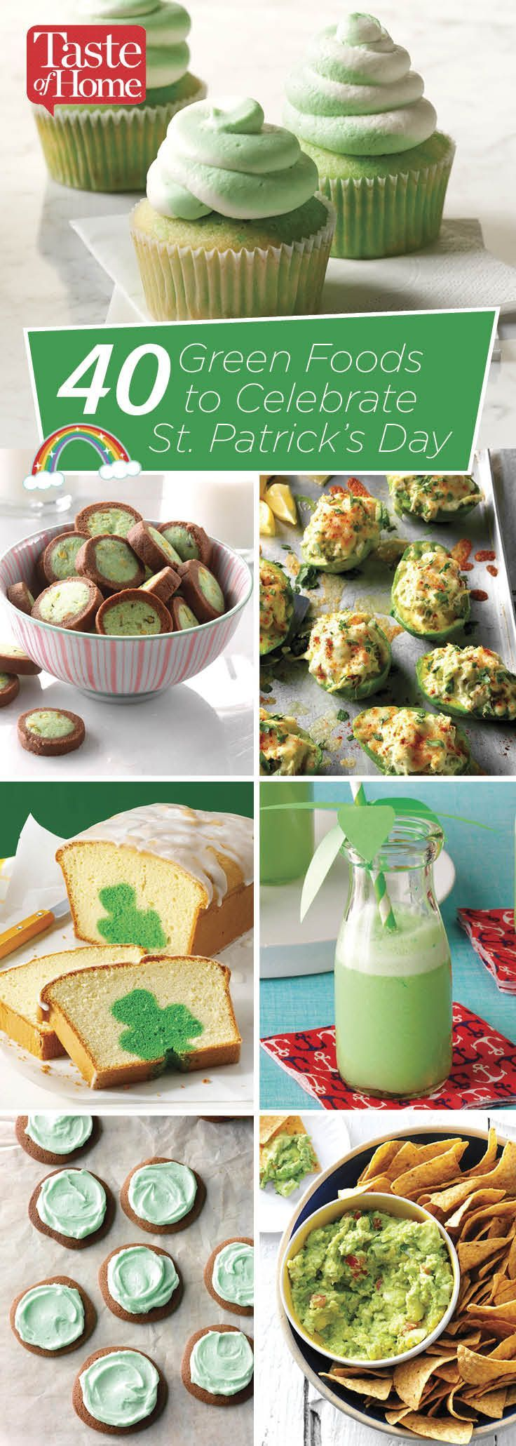40 Green Foods to Celebrate St. Patrick's Day