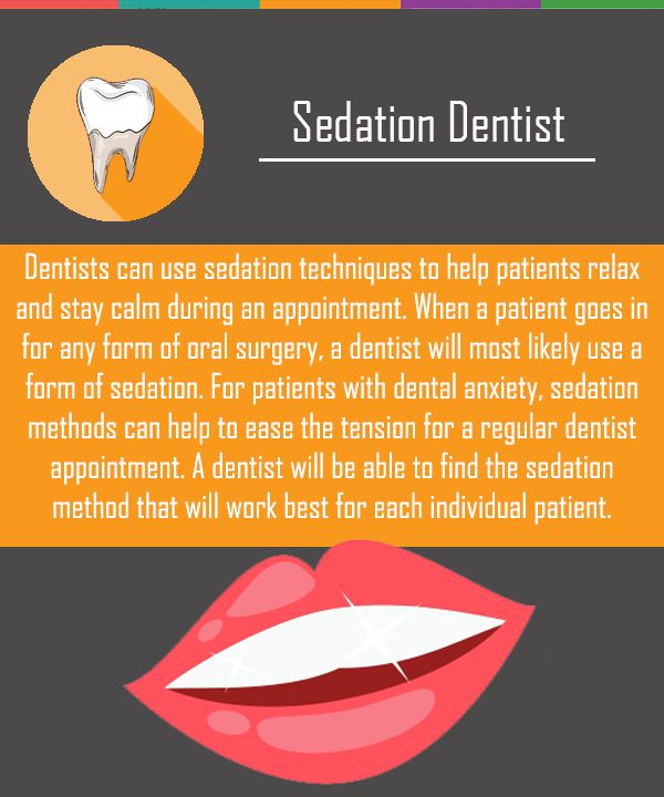 If you have any questions or concerns about sedation methods, speak with a certified dentist in sedation techniques prior to the appointment.
