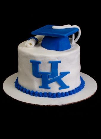 University Of Kentucky Graduation Cake By Sweetly Wild