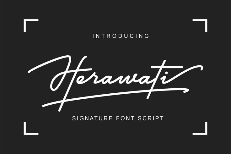 Herawati Signature Font. This font is designed for font users who like the Modern Character. This font is equipped with various alternate front and rear characters as well as upper and middle fonts, so it is suitable for signature, pearl word, book title, magazine title, invitation card, or works that require original handwriting character. No less important this font is equipped with Alternative Swash and ligature.