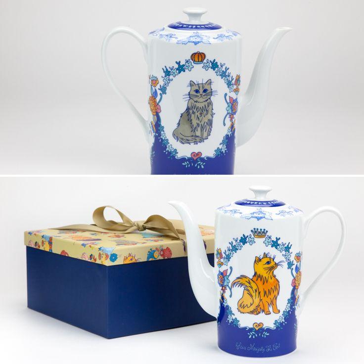 Bule Her Majesty The Cat 1500 ml | A Loja do Gato Preto | #alojadogatopreto | #shoponline | referência 130666709