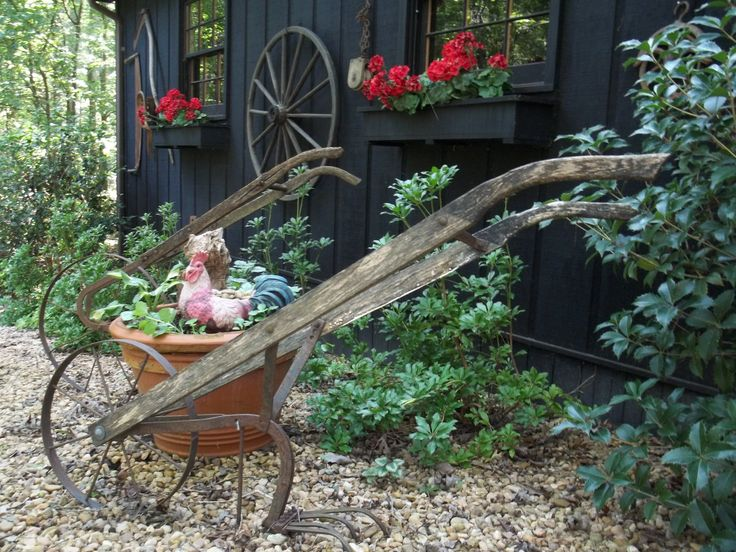 Old hand plows yard ideas pinterest gardens for Tools for backyard gardening